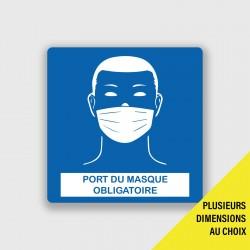 Sticker Port du masque...