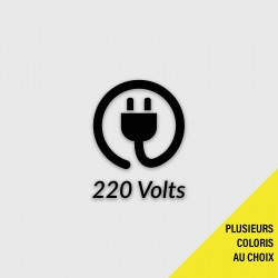Découpe logo 220 Volts